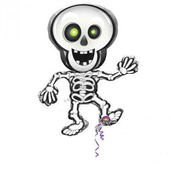 Folienballon - Dancing Skeleton