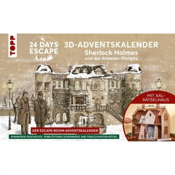 24 Days Escape - Sherlock Holmes - 3D Adventskalender