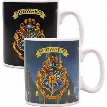 Harry Potter - Hogwarts - Tasse mit Thermoeffekt