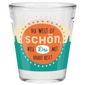 Gruss & Co. - Welt - Schnapsglas