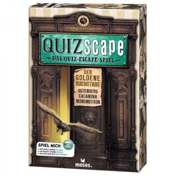 Quizscape - Das Quiz-Escape-Spiel - Der goldene Buchstabe