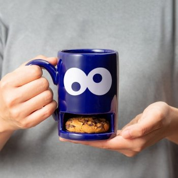 Mug Monster blau Keks-Becher