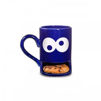 Mug Monster blau Keks-Becher Keks