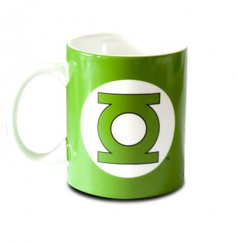 Green Lantern Becher back