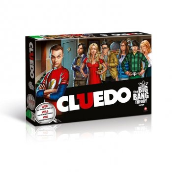 Cluedo - The Big Bang Theory - Brettspiel