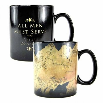 Game of Thrones Map Tasse mit Thermoeffekt