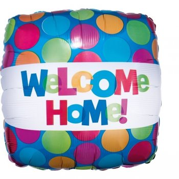 Folienballon Welcome Home