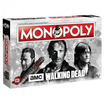 Monopoly The Walking Dead Brettspiel