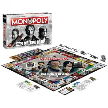 Monopoly The Walking Dead Spielsituation