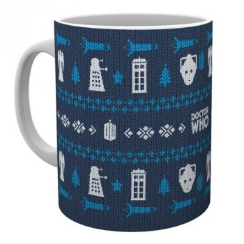 Doctor Who - Ugly Sweater - Tasse