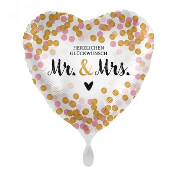 Folienballon - Mr. & Mrs. Dotty