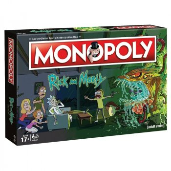 Monopoly Rick and Morty Brettspiel
