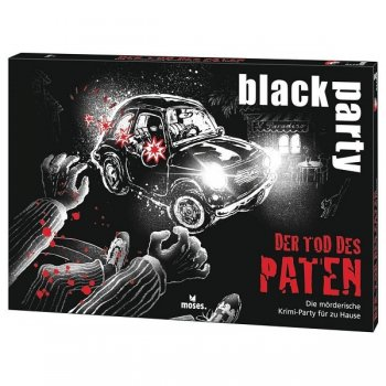 Black Party - Der Tod des Paten - Krimi-Dinner