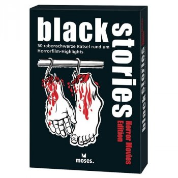 Black Stories - Horror Movies Edition - Rätselspiel