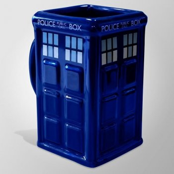 Doctor Who - Tardis - 3D-Tasse