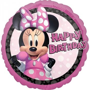 Folienballon - Minnie Mouse Forever Birthday