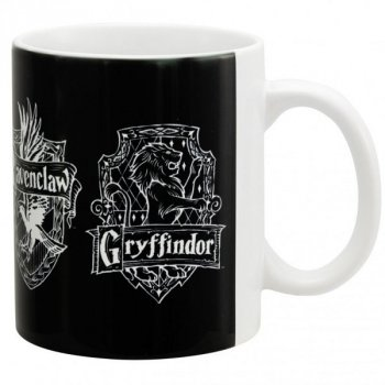 Harry Potter - Hogwarts Häuser - Tasse