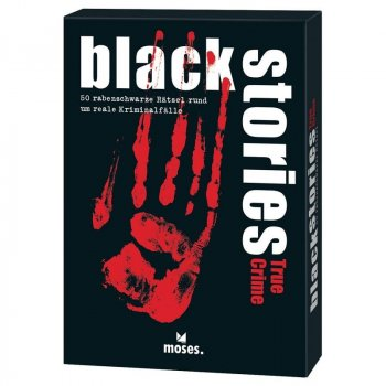 Black Stories - True Crime Edition - Rätselspiel