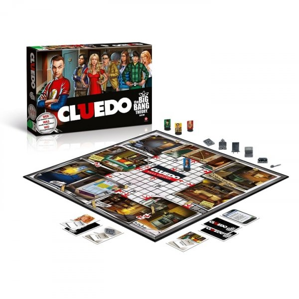 Cluedo The Big Bang Theory Spielbrett