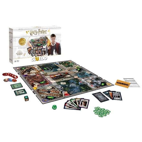 Cluedo Harry Potter Spielsituation