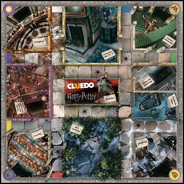 Cluedo Harry Potter Spielbrett
