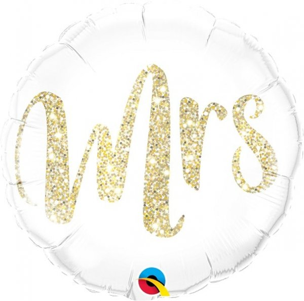 Folienballon Mrs