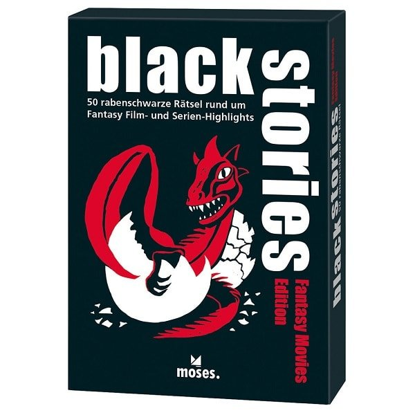 Black Stories Fantasy Movies Edition Rätselspiel