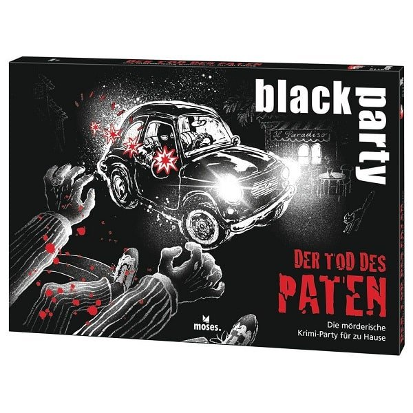 Black Party Der Tod des Paten Krimi-Dinner